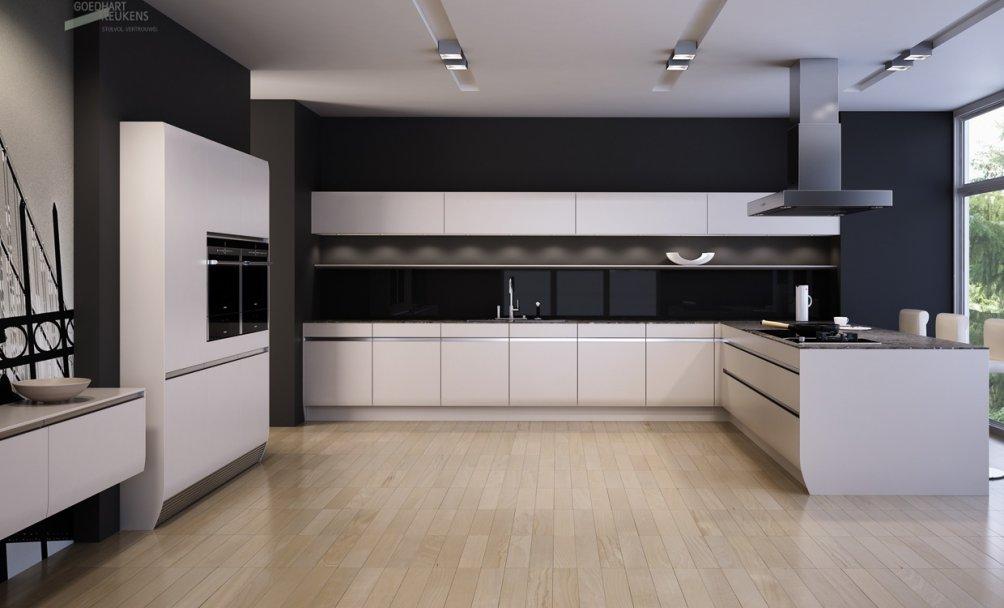 Handgrepen Keuken Zwart : Keukens KUIPERSTEGELWERKEN