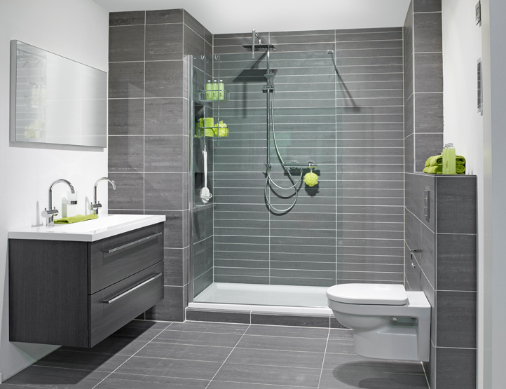 Kleine Vierkante Badkamer ~ Badkamer Ideeen Zonder Tegels  Badkamers KUIPERSTEGELWERKEN